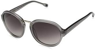 Elie Tahari Women's EL228 GRY Round Sunglasses