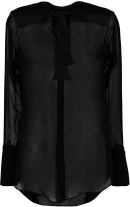 Neil Barrett see-through shirt