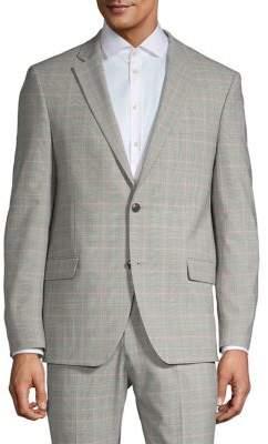 Tommy Hilfiger Slim-Fit Check Suit Jacket