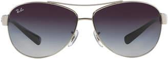 Ray-Ban Rb3386 67 Silver Pilot Sunglasses