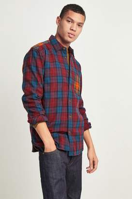 French Connenction Flannel Tartan Shirt