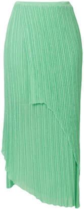 Christian Wijnants Kenan asymmetric knitted skirt