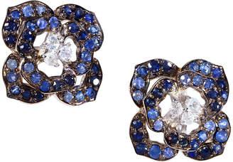 Effy Fine Jewelry Silver 7.60 Ct. Tw. Sapphire Earrings