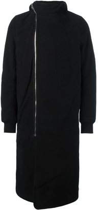 Rick Owens DRKSHDW zipped hooded coat $2,113 thestylecure.com