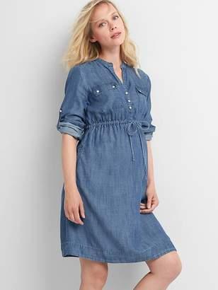 Gap Maternity Utility Dress in TENCEL