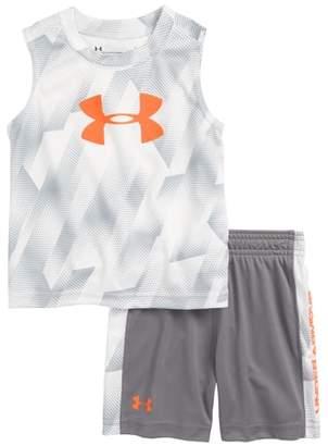 Under Armour Sandstorm T-Shirt & Shorts Set