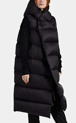 Rick Owens Women's Liner Down-Quilted Sleeveless Puffer Jacket - Black
