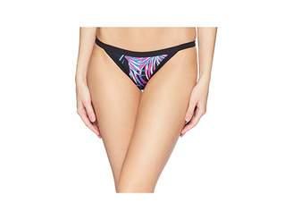 Hurley Quick Dry Koko Cheeky Surf Bottom Women's Swimwear