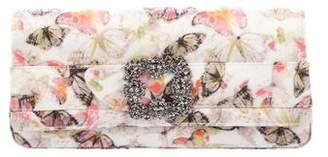 Manolo Blahnik Gothisi Butterfly Clutch