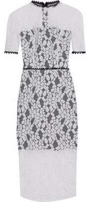 Alexis Remi Cutout Guipure Lace Midi Dress