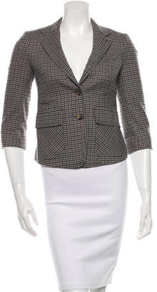 Boy. by Band of Outsiders Wool Plaid Blazer $85 thestylecure.com
