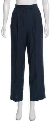 DKNY Wool High-Rise Pants