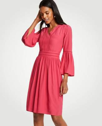 Ann Taylor Tall Cutout Flare Sleeve Dress