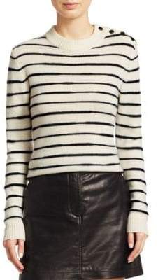 Rag & Bone Sam Variegated Stripe Wool Sweater