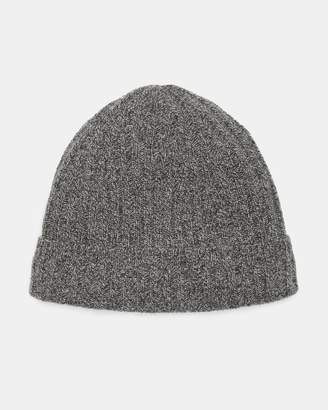 Theory Cashmere Ribbed Beanie