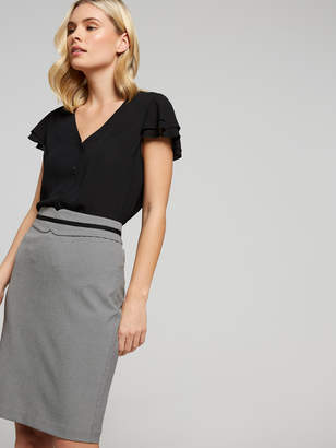 Portmans Australia Minnie Houndstooth Skirt