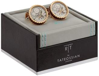 Tateossian Skeleton Gear Cufflinks