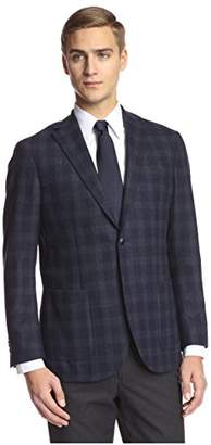 Franklin Tailored Men's Tonal Large Check Sportcoat
