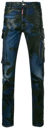 DSQUARED2 biker skinny trousers