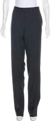 Ted Baker Mid-Rise Straight-Leg Pants