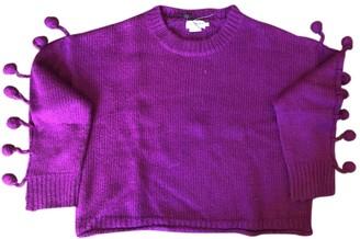 Anthropologie Purple Wool Knitwear for Women