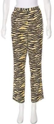 Maison Scotch High-Rise Straight-Leg Pants