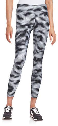 Calvin Klein Performance Cropped Printed Leggings