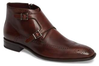 Mezlan Taberna Double Monk Strap Boot
