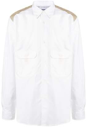 Junya Watanabe elbow patch shirt