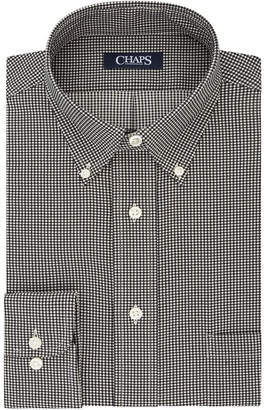Chaps Mens Regular Fit Comfort Stretch Button-Down Collar Dress Shirt