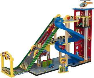 Kid Kraft Mega Ramp Racing Set