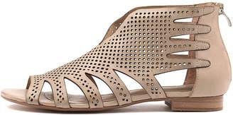 Django & Juliette Pandy Nude Sandals Womens Shoes Casual Sandals-flat Sandals