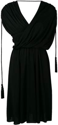 Lanvin draped asymmetrical dress
