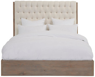 Lalor Tufted Bed - Ivory Linen - Community