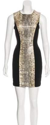 Blumarine Printed Mini Dress