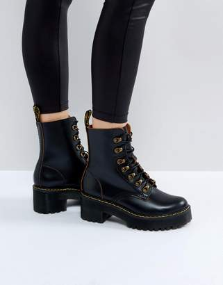 Dr. Martens Leona Hiker Chunky Lace Up Ankle Boots