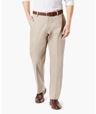 Dockers Signature Khaki Classic Fit Flat Front Pants-Big and Tall