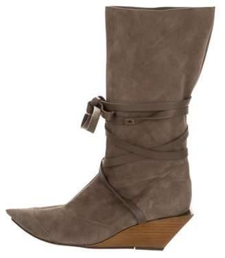 Clergerie Suede Vintages Boots Suede Vintages Boots