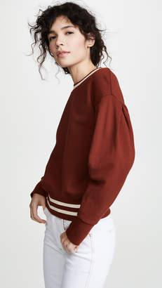 Madewell Acorn Rail Ribbed Sweatshirt