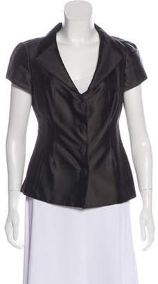 Aquilano Rimondi Aquilano.Rimondi Notch-Lapel Short Sleeve Vest Brown Aquilano.Rimondi Notch-Lapel Short Sleeve Vest