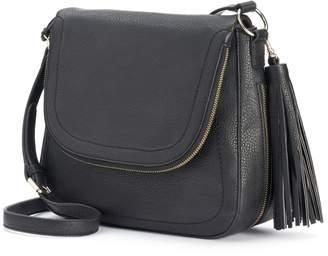 Apt. 9 Ruby Fishmouth Crossbody Bag