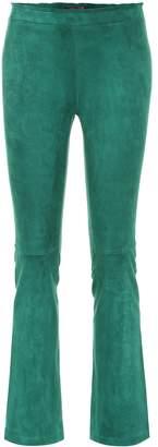 STOULS JP suede bootcut leggings