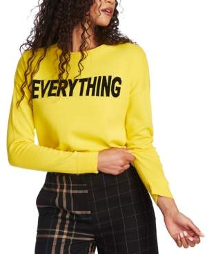 1 STATE 1.State 1.state Everything Crewneck Sweater