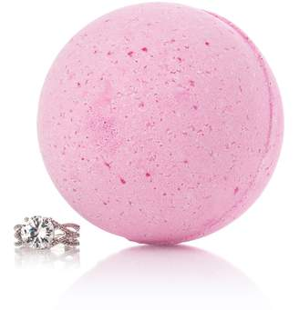 Pearl Bath Bombs Strawberries & Champagne Ring Bath Bomb with Luxury Ring Surprise
