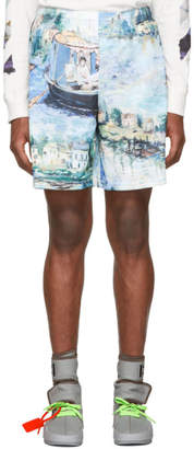 Off-White Off White Multicolor Lake Shorts