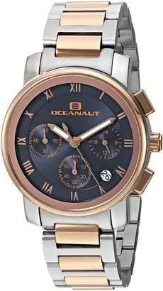 Oceanaut Women's OC0638 Casual Riviera Watch, Blue