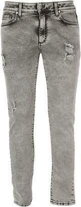 Represent Distressed Denim Jeans