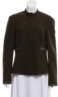 Narciso Rodriguez Wool Zip-Up Blazer