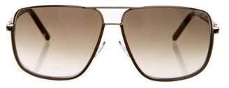 Jimmy Choo Carry Aviator Sunglasses
