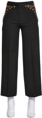 Y/Project Cool Wool Pants W/ Lace-Up Chains